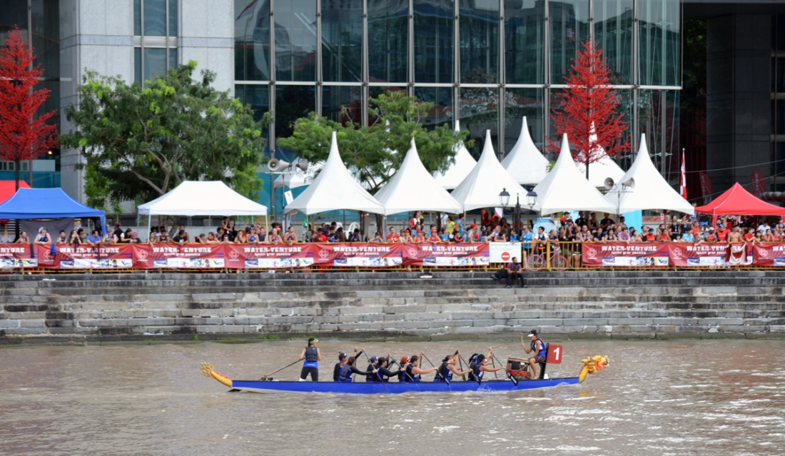 FDS in Boat Quay (after their finals race).