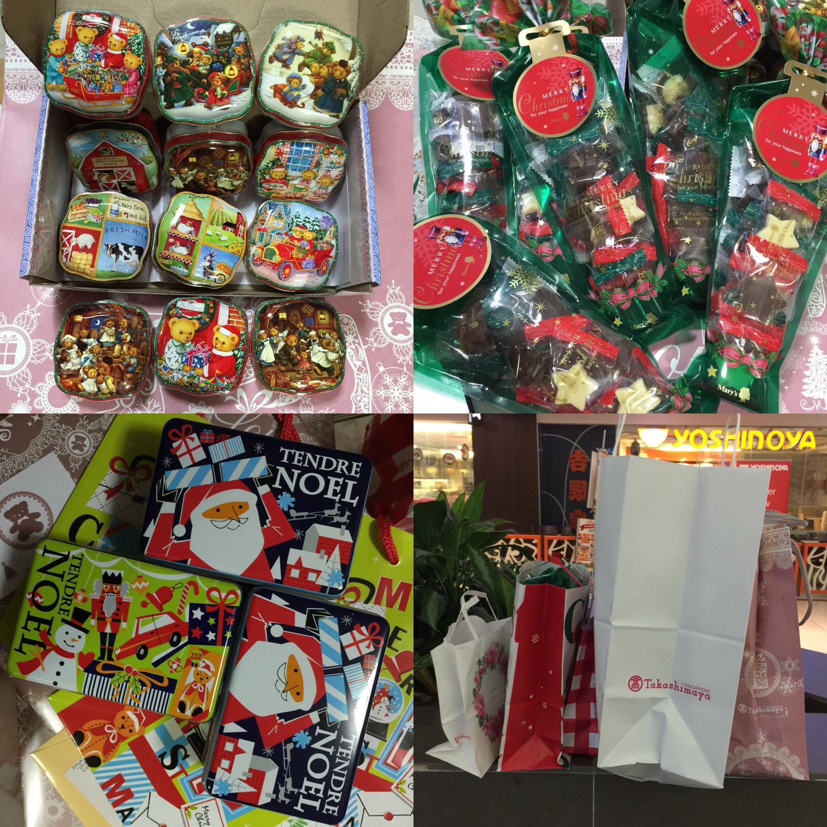 Attractive Cheap Christmas Gifts Singapore Part - 3: Shopping For Christmas Gifts At Takashimaya Singapore