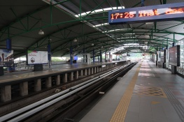 Sultan Ismail LRT station.