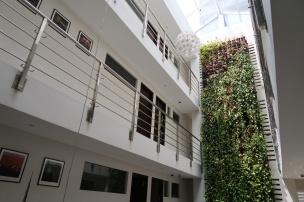 The interior of Mesui Hotel.