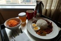 Breakfast itself!