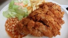 Chicken cutlet in the heartlands are HUGE.